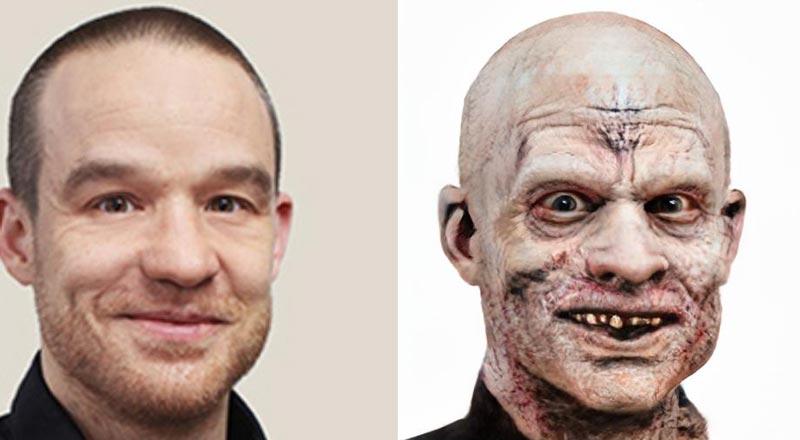 GAN-Technik macht's möglich: Ich kann mich selbst bei vollem Bewusstsein als Zombie erleben. Ich bin überzeugt. | Bild: MIXED
