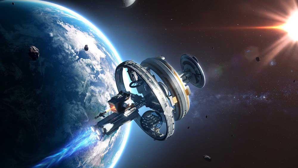 Raumschiff aus AGOS