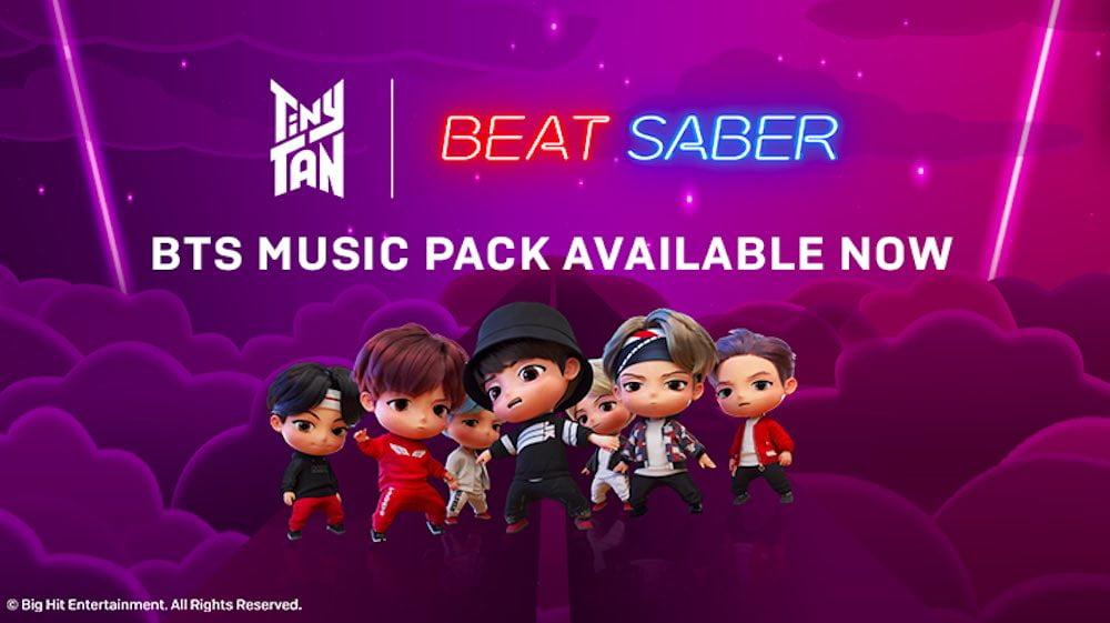 Beat Saber: Neues Music Pack mit K-Pop-Legende BTS