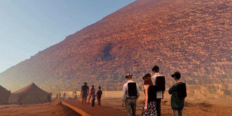 Emissive_VR_Nutzer_besuchen_virtuelles_Ägypten