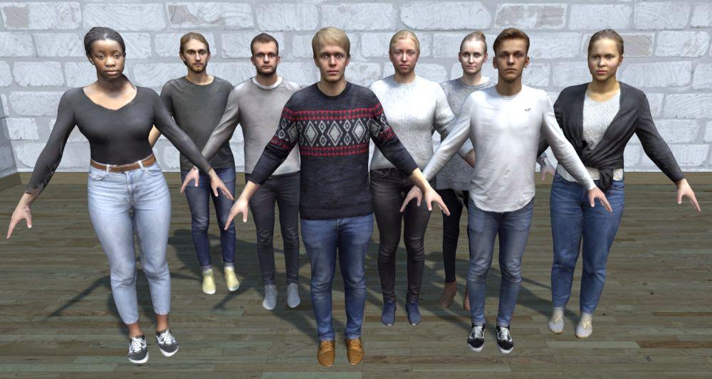 3D-Scan: Detaillierte Avatare mit Mittelklasse-Smartphone
