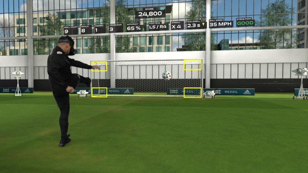 Fußball in VR: Trainings-App erscheint auf Steam & Viveport