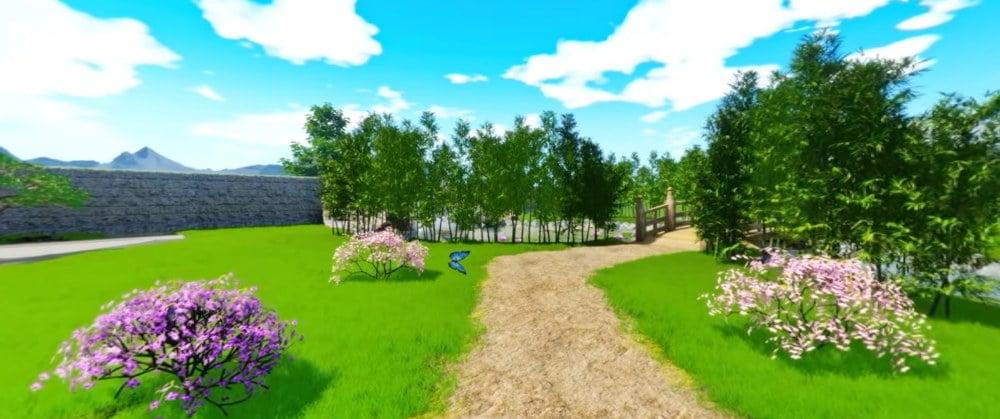 The Secret Garden VR Erfahrung hilft gegen Quarantäne-Depression