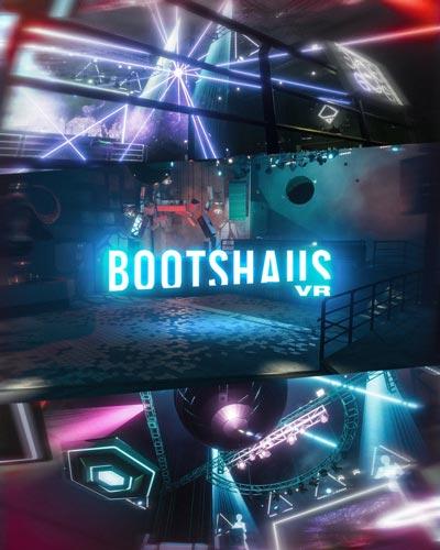 Eindrücke aus der VR-Version des Bootshaus. Ab dem 28. November wird hier virtuell getanzt. | Bilder: Bootshaus
