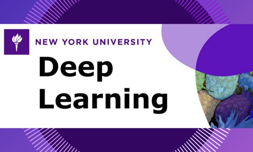 Deep Learning Kurs Banner der New York Universität