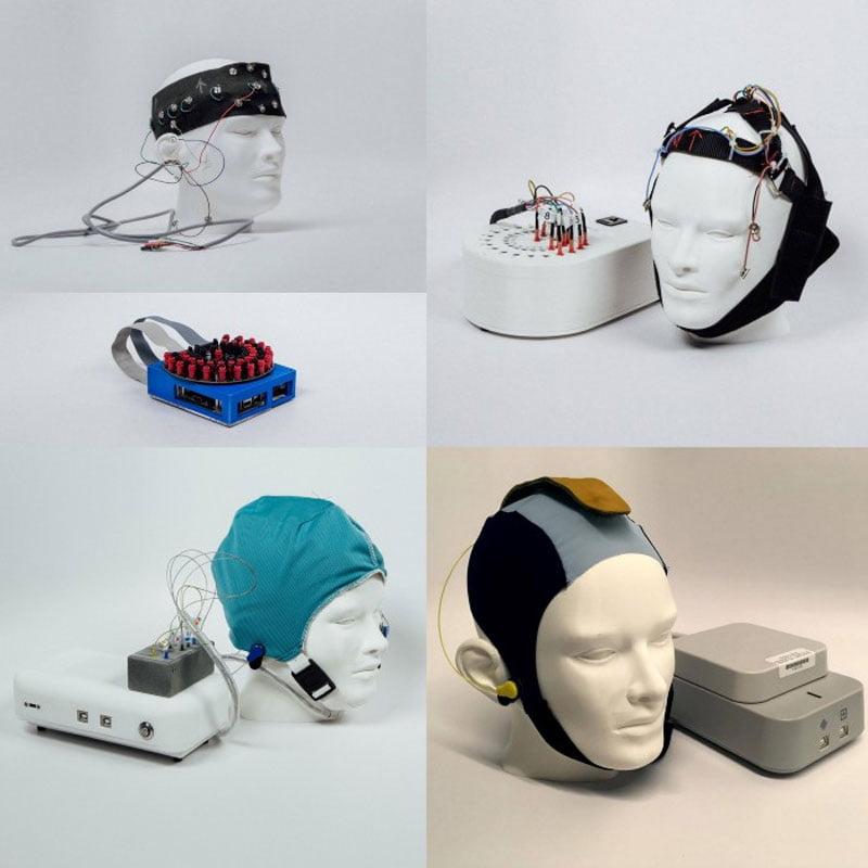 Um EEG-Messungen außerhalb des Labors zu ermöglichen, entwickelten die X-Forscher eine eigene Hard- und Software.   Bild: Alphabet