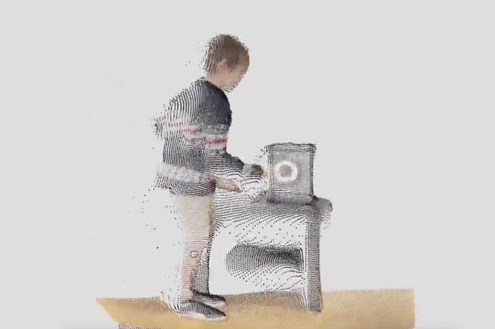 iPhone_12_Pro_Lidar_3D_Video_Junge_mit_Gong