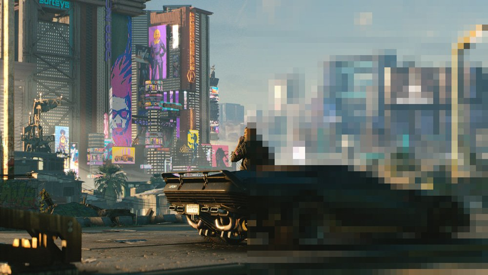 Night City aus Cyberpunk