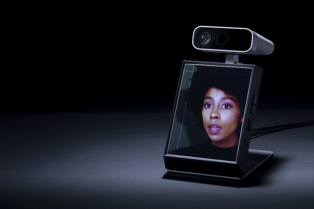 Looking_Glass_Portrait_mit_Azure_Kinect