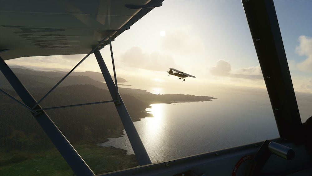Microsoft Flight Simulator VR: Ruckelorgien und reduzierte Grafik