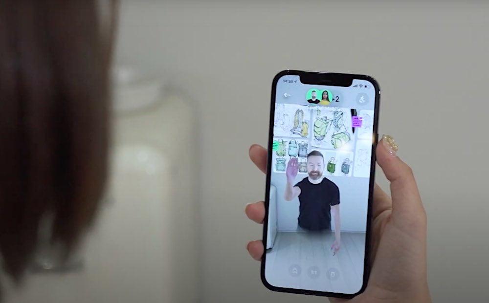 Spatial: Telepräsenz-App erscheint für Smartphones