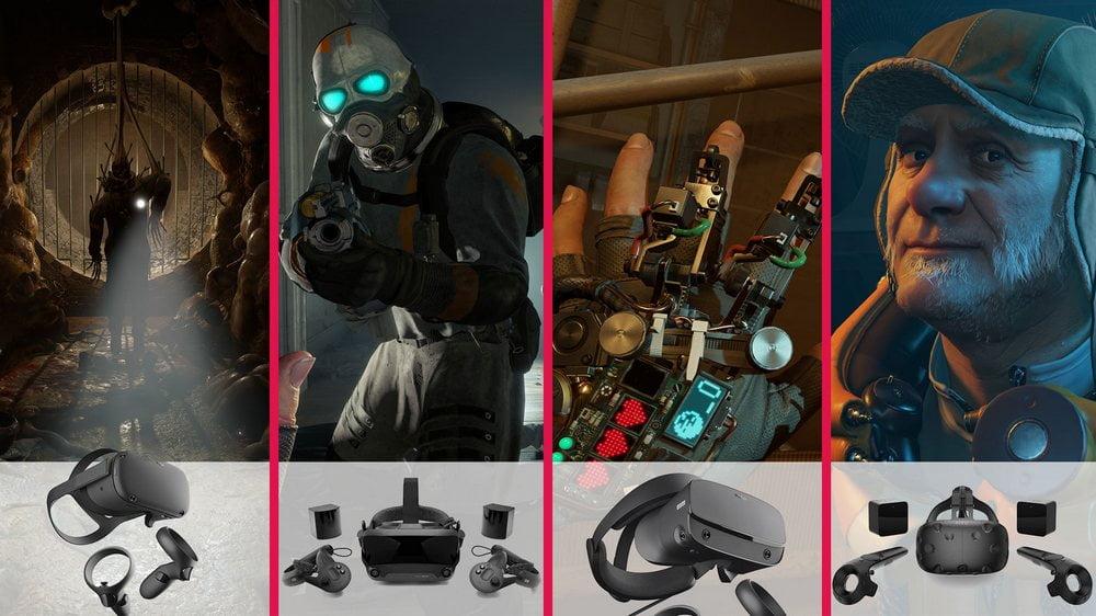 Half-Life: Alyx Test auf MIXED.de: Spielszenen und vier VR-Brillen
