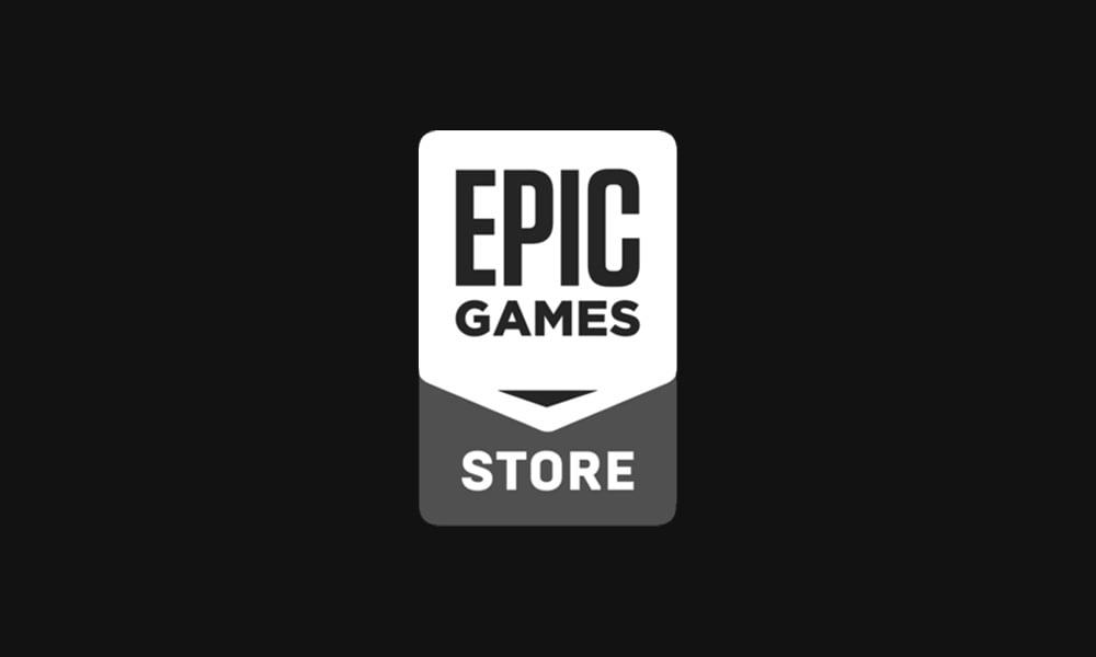 Das Logo des Epic Games Store
