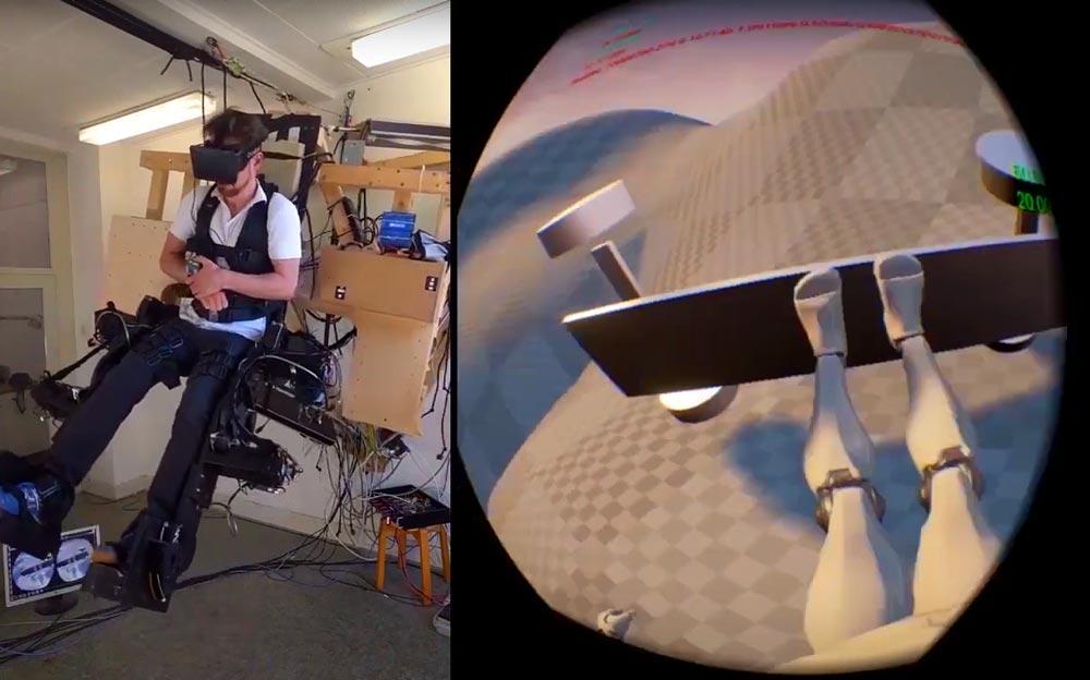 Holotron: Tüftler bauen abgefahrenes VR-Exoskelett