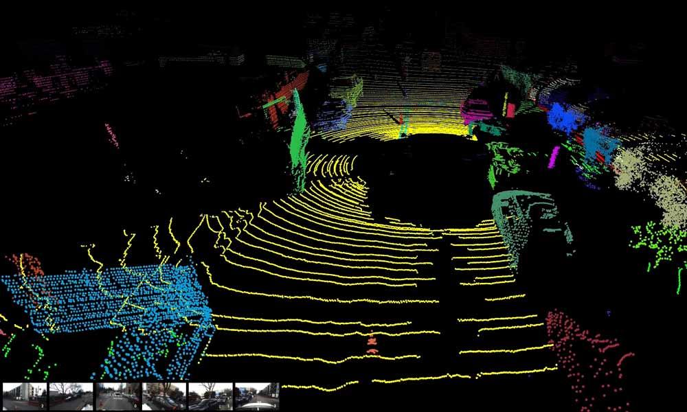 Eine Radaransicht der realen Welt