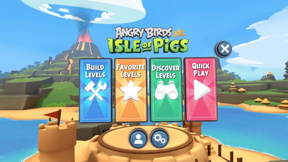 | Angry Birds VR Leveleditor