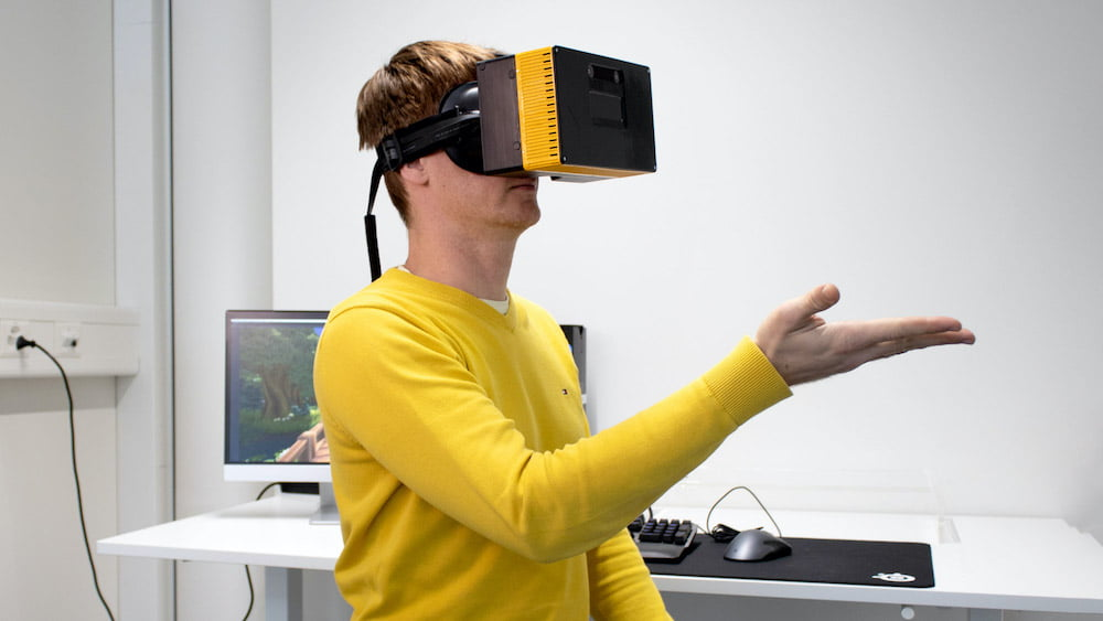 Creal VR-Brille: Video zeigt Lichtfeld-Display im Einsatz