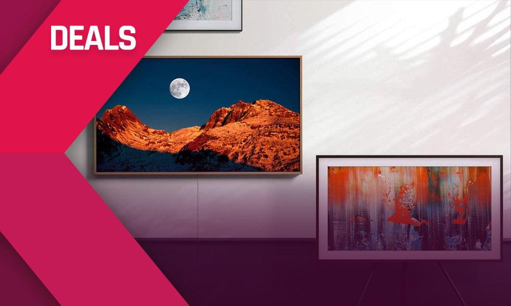 """Deals: Samsung Smart TV """"The Frame"""" 1.320 € billiger"""
