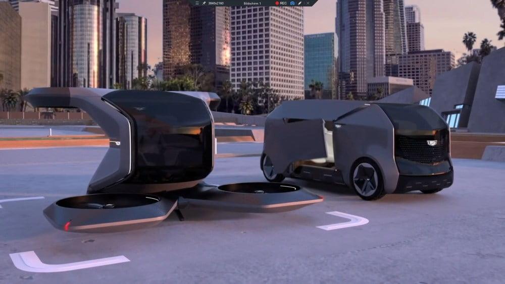 Autonomes Fliegen: GM zeigt elektrisches Flugtaxi
