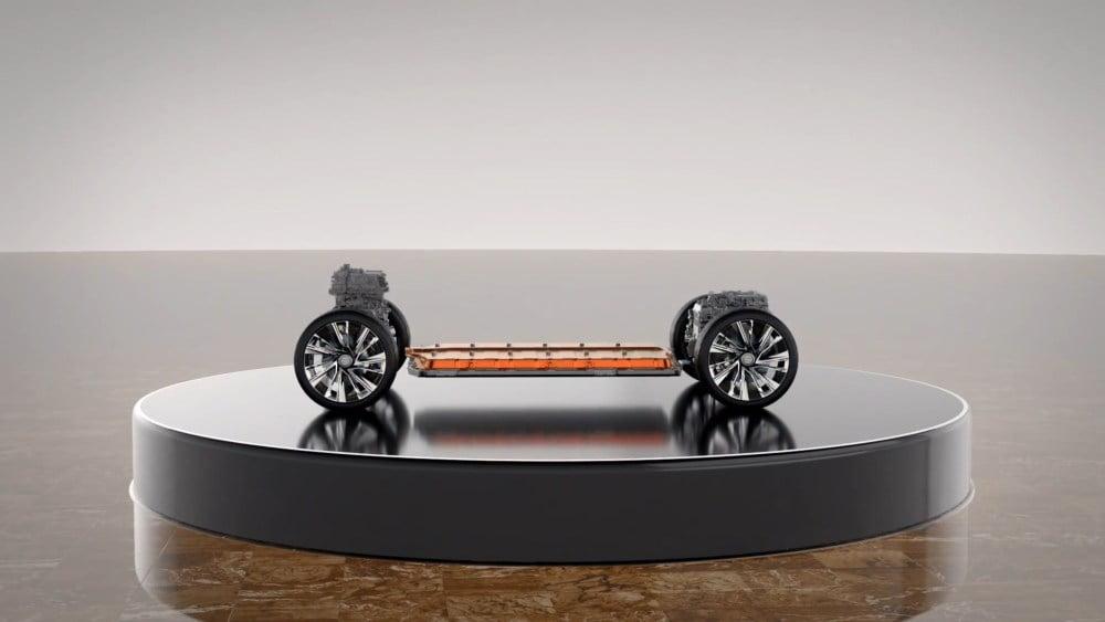 Die Ultium-Battery-Plattform von General Motors.
