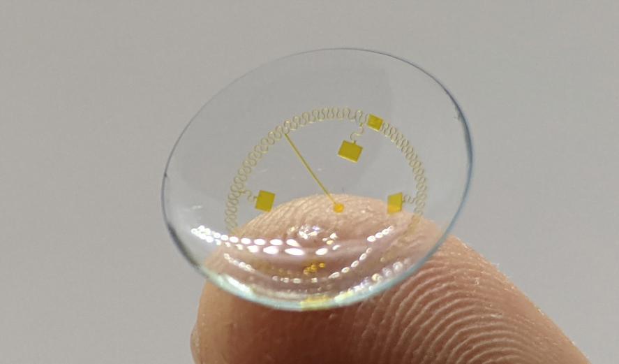 Dieser Durchbruch soll Kontaktlinsen smart machen