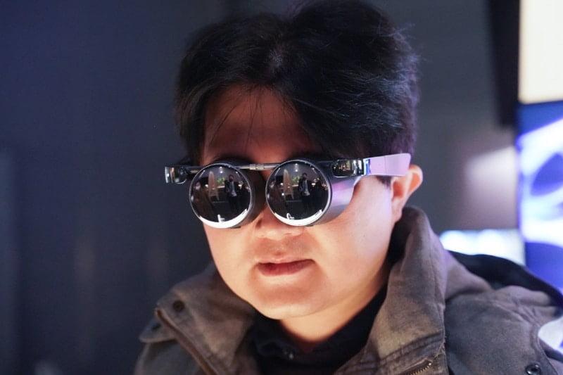 CES 2021: Panasonic zeigt extra-schlanke VR-Brille