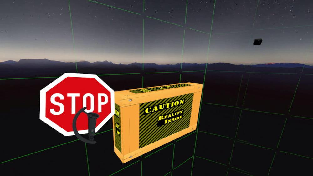 Stop Sign VR: Mit diesem Tool pimpt ihr euer Guardian-System