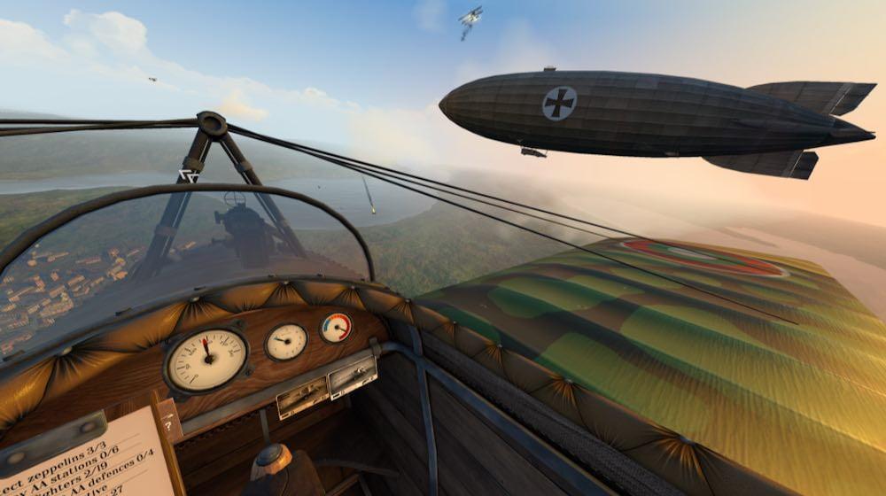 Warplanes_WW1 Fighters_Oculus_Quest_Zeppelin