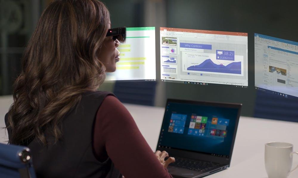 Lenovo A3: AR-Brille für Digital-Displays und mehr