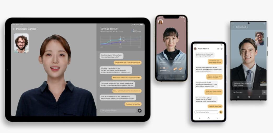 Neon View heißt der Service, bei dem die Neon-Charaktere aus dem Smartphone oder Tablet mit Nutzern interagieren. | Bild: Neon