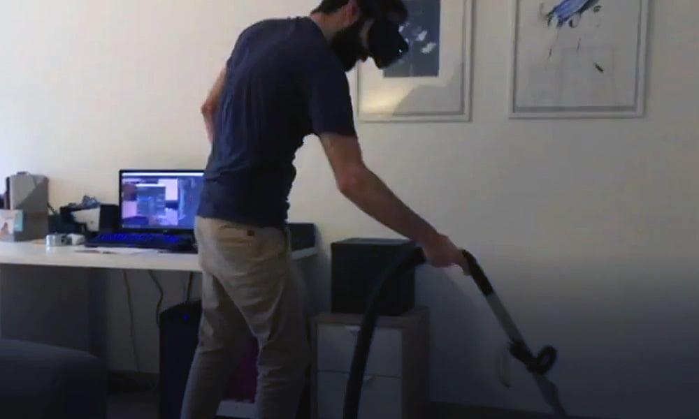 Hausarbeit-Gaming: Staubsauger trifft auf VR-Brille