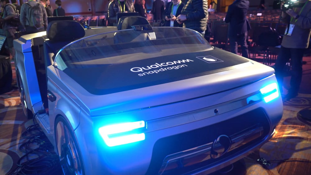 Alexa steckt künftig in Qualcomms Automotive Cockpit
