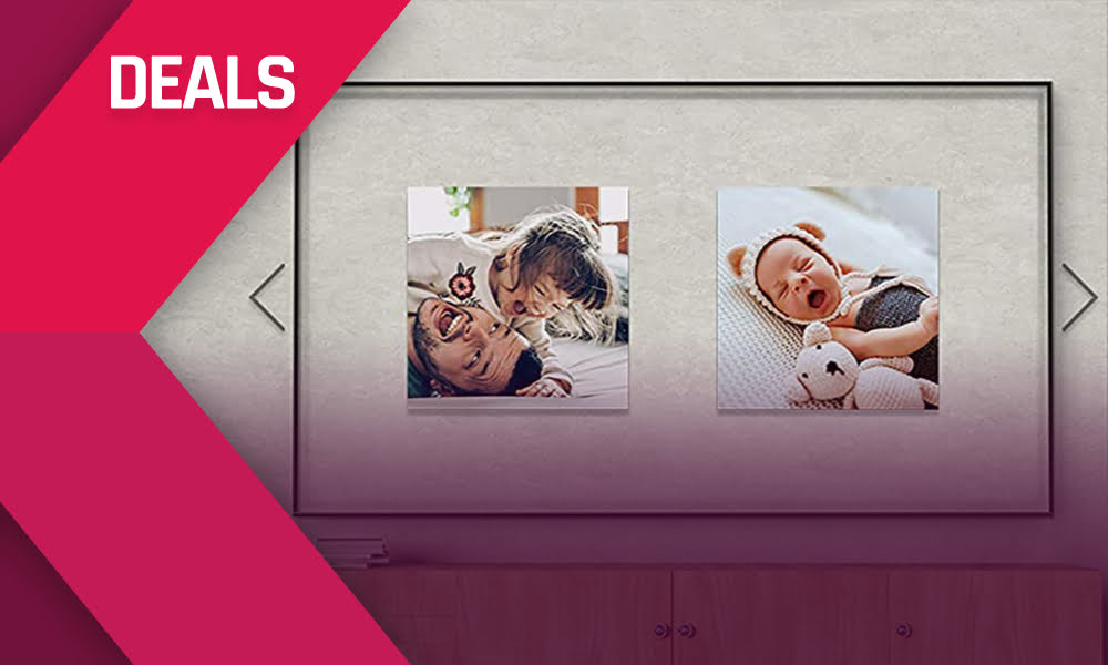 Samsung 75-Zoll-Smart-TV mit Ambient-Mode 600 € billiger