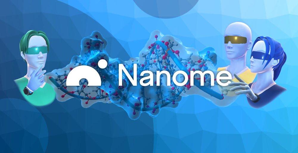 Nanome_Molekulare_Strukturen_und_Avatare