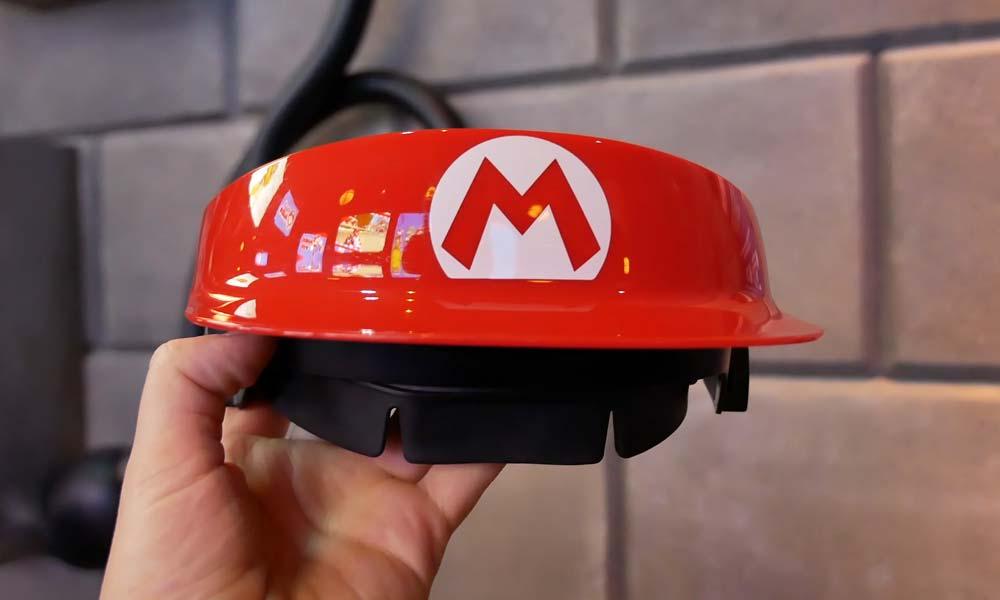 Mario Kart Kappe für die AR-Brille
