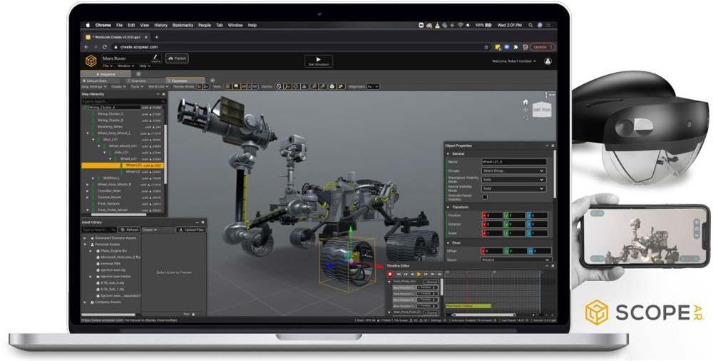 Scope AR: Browser-basierte AR-Plattform für Unternehmen startet