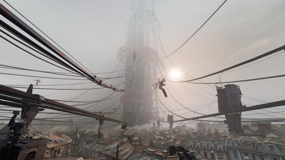 Zitadelle in City 17 HL: Alyx