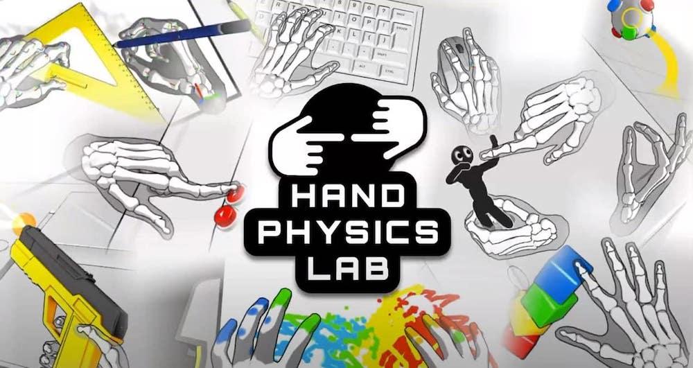 Hand Physics Lab: Geniale Handtracking-App erscheint offiziell