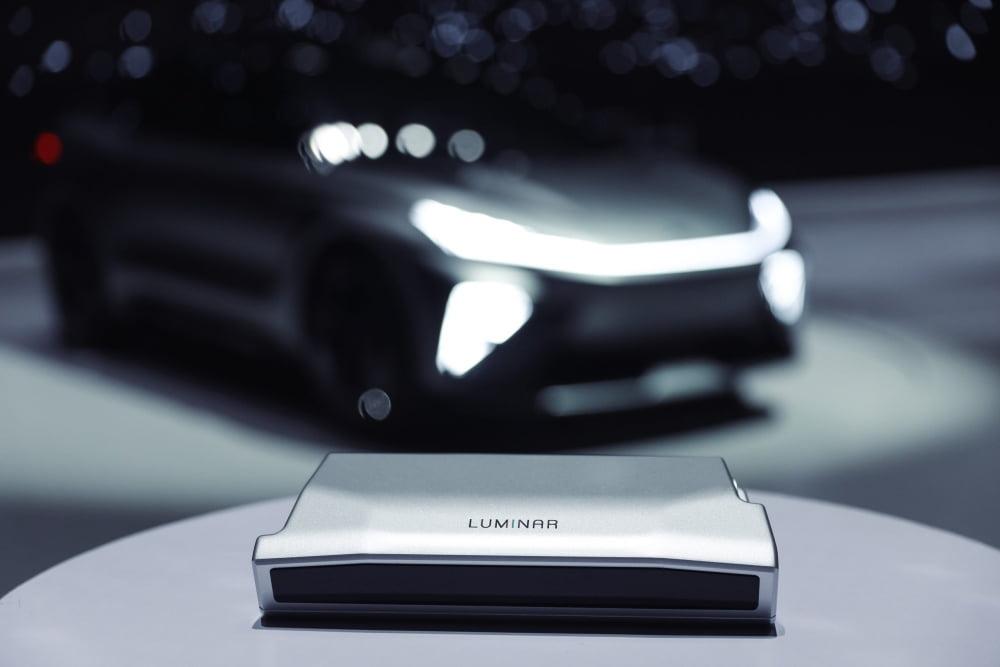 Luminars Lidar-Sensoren werden künftig in der Dachlinie von SAICs R-Serie-Modellen verbaut.