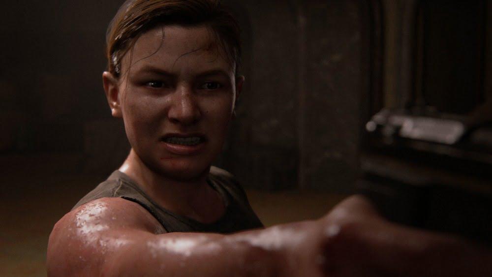 Der Charakter Abby aus dem Spiel The Last of Us 2 vom Entwicklerstudio Naughty Dog.