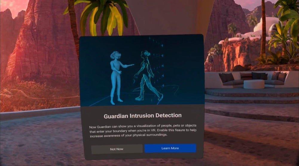Oculus Quest (2): Nutzer entdeckt tolles neues Guardian-Feature