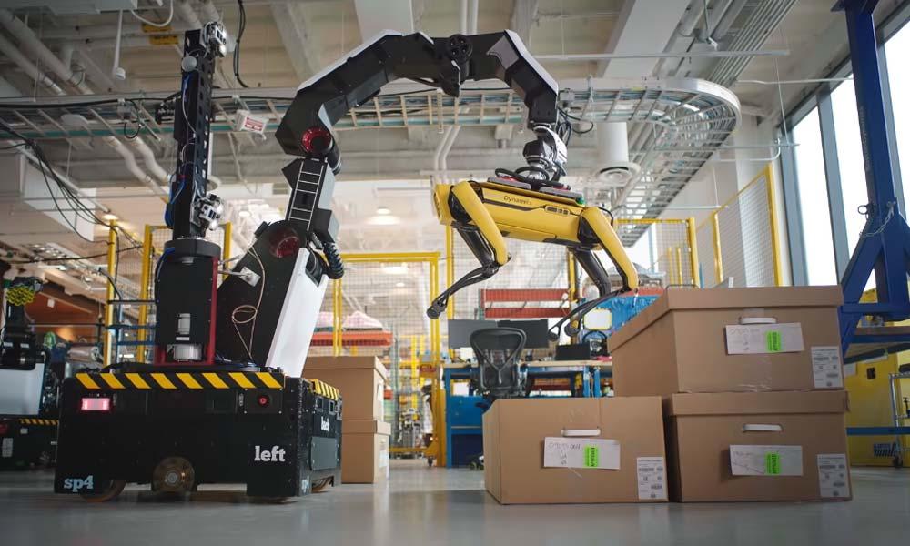 """Boston Dynamics stellt neuen Roboter """"Stretch"""" vor"""