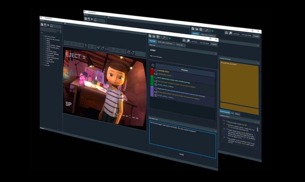 Wizard Engine: Editor für GPT3-basierte KI-Charaktere startet