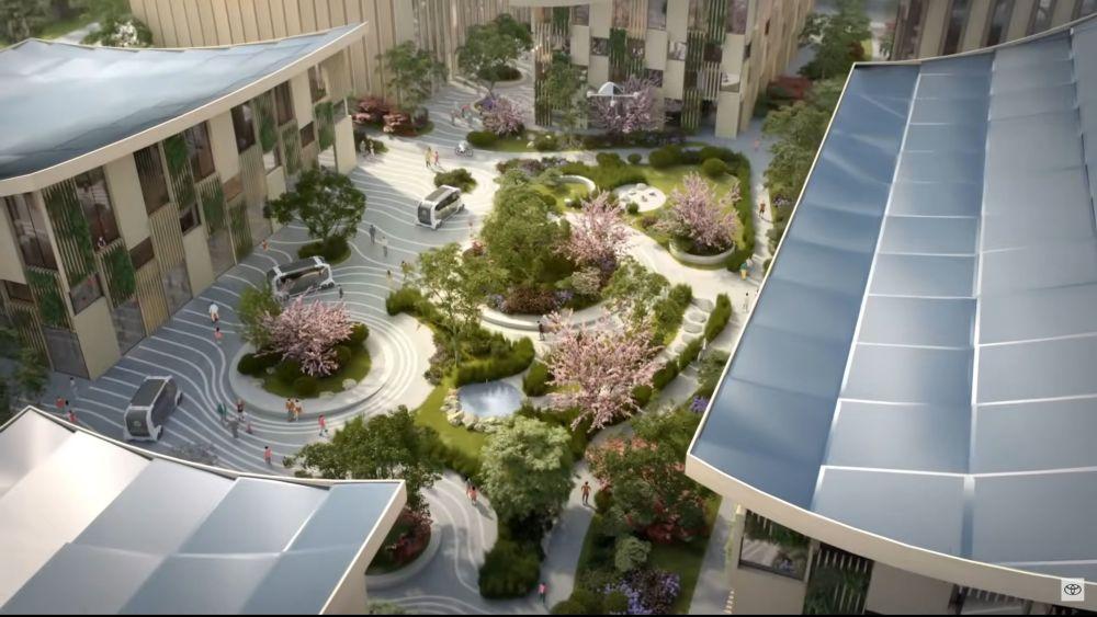 Toyotas künstliche Stadt soll über reichlich Grünflächen verfügen.