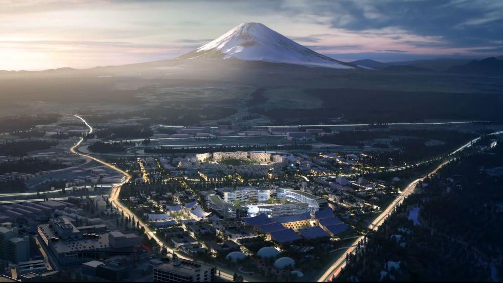Woven City Toyotas smarte Stadt für autonomes Fahren.