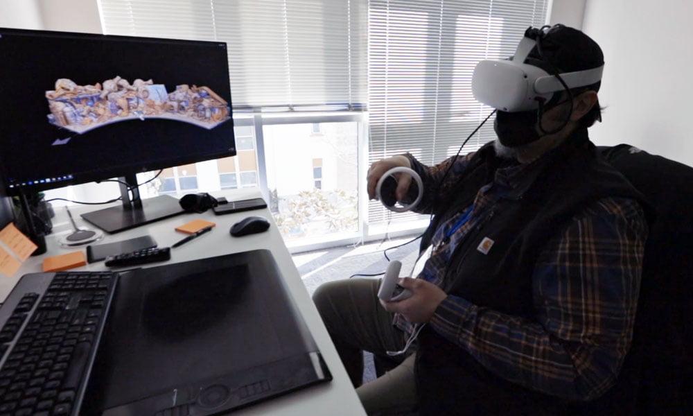 """The Mandalorian"": VR mit Quest 2 half beim Dreh"