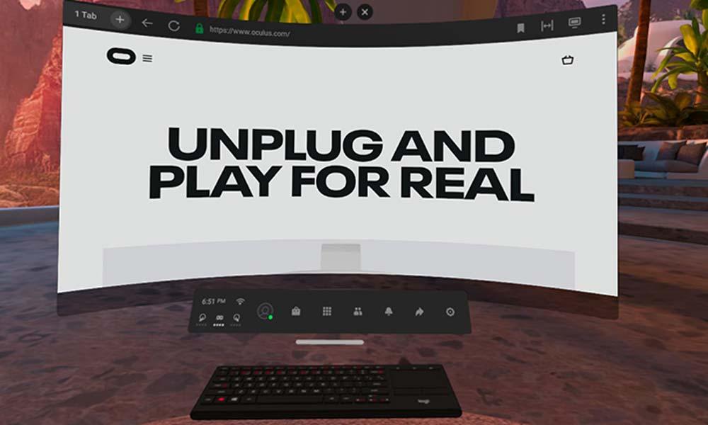 Quest 2 läuft ab sofort kabellos am PC. | Bild: Oculus