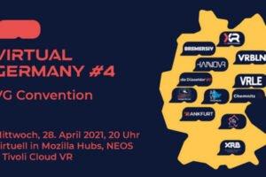 Die deutsche VR-Szene trifft sich in Virtual Reality