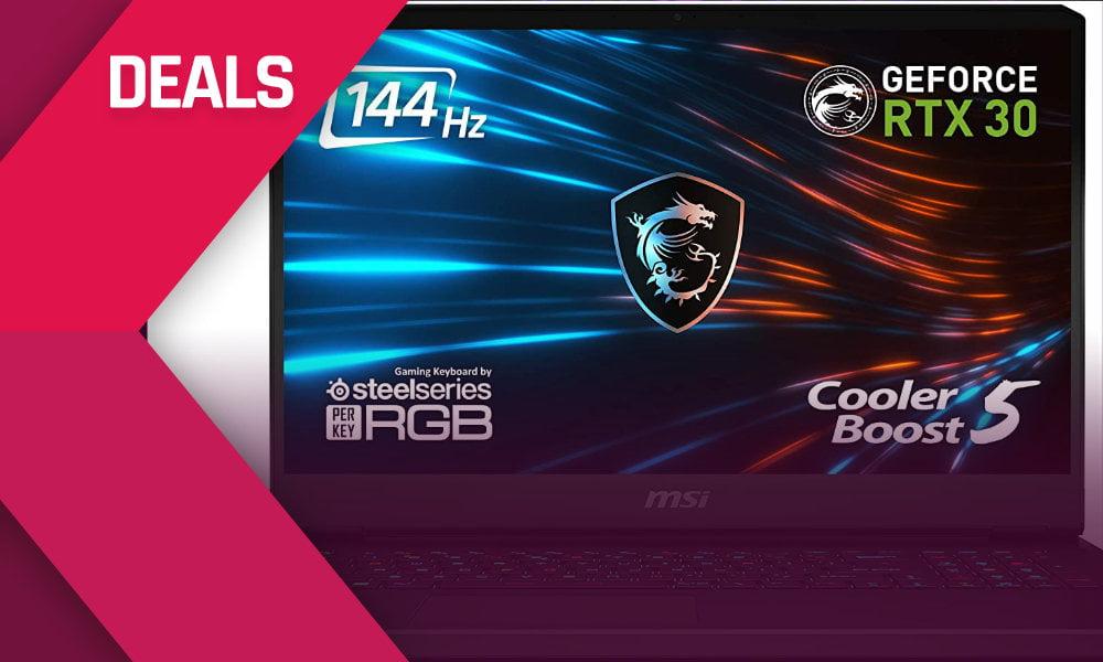 Bis zu 300 Euro sparen bei Gaming Laptops mit Nvidia RTX 3060