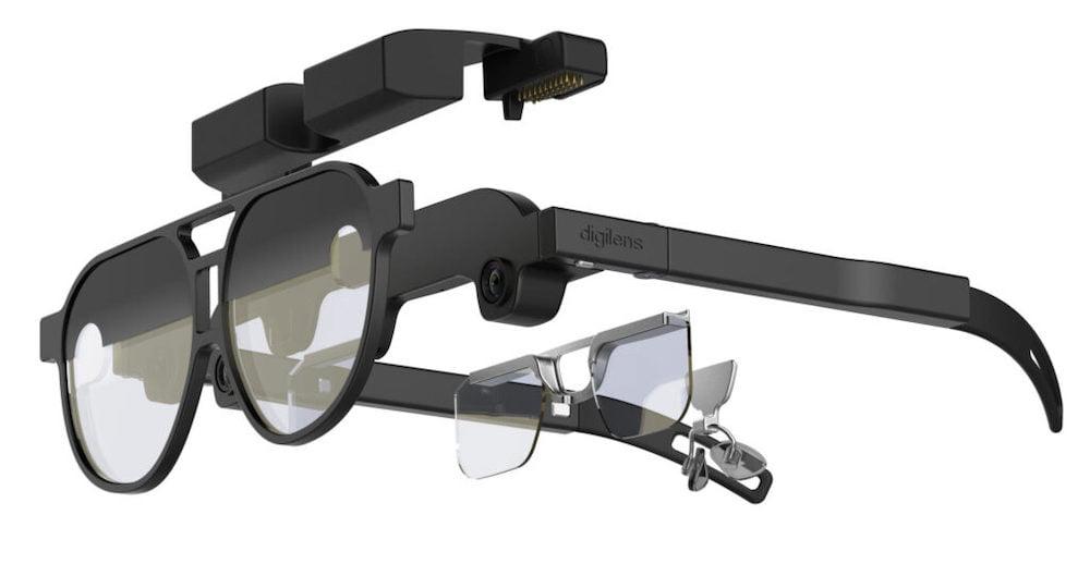 Digilens präsentiert Referenzdesign für schlanke AR-Brillen